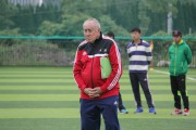 """""""小小的足球,大大的梦想"""" — 欧中体育发展协会足球技术顾问团2015台州行"""